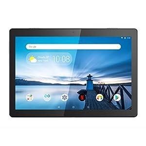 lenovo tab m10 - 41OgyFzx2UL - Lenovo TAB M10 Tablet, Display 10,1″ Full HD,Processore Qualcomm Snapdragon 450,Storage 32GB espandibile fino a 256GB,RAM 3GB,WIFI+LTE, Android Oreo,Slate Black