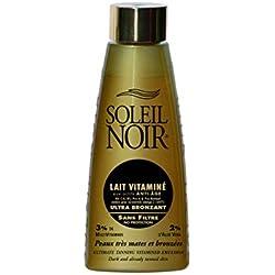 SOLEIL NOIR 6 Lait Vitaminé sans Filtre Ultra Bronzant