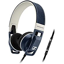 Sennheiser URBANITE - Auriculares de diadema abiertos (compatible iPhone/iPod/iPad), denim