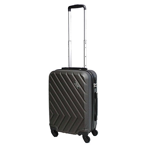 Travelite QUICK 4-Rad Trolley S 72847-04 Koffer, 55 cm, 37 L, Anthrazit