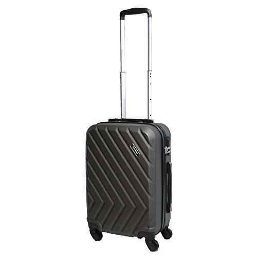 Travelite QUICK 4-Rad Trolley S 72847-04 Koffer, 55 cm, 37 L, Anthrazit