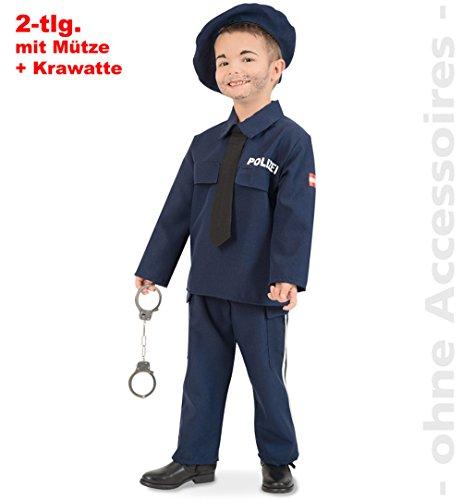 Polizei Polizist Gesetzeshüter Kostüm Kinder Austria Österreich Gendarm Kinderkostüm