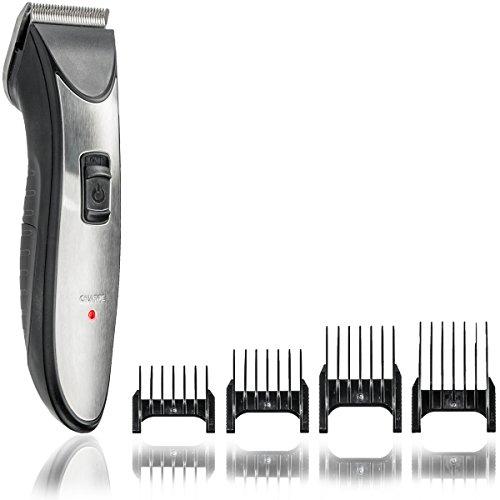Bart-Schneider mit verstellbarem 3-stufigen Aufsatz 2in1 Präzisionstrimmer und Haarschneider für Herren Bart-Trimmer