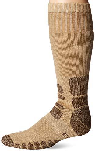 Eurosocks Herren Bergsteigen Heavy Gewicht Silber Boot Socke, Herren, beige -