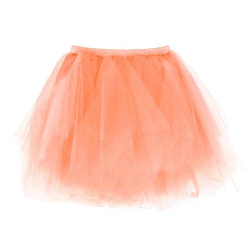Gonna da danza per adulti Tutu per adulti POachers arancia