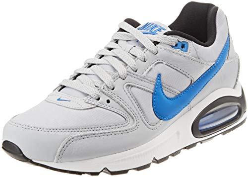 Nike Herren Air Max Command Sneakers, Mehrfarbig (Wolf Grey/Signal Blue/Black/White 036), 45 EU