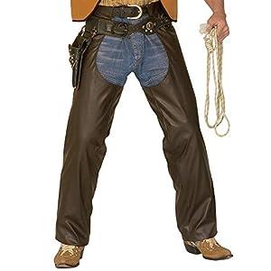 WIDMANN Widman - Disfraz de cowboy para hombre, talla M (3024C)