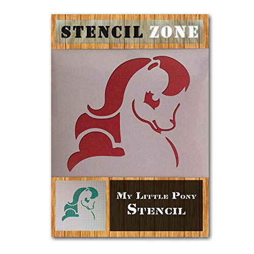 My Little Pony Tier Zeichen Mylar Airbrush Painting Wall Art Crafts Stencil-XS -