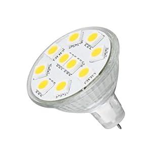 Anyray MR11 LED Light Bulb GU4 Base 165lm Flood Beam lamp (Cool White)