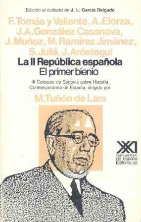 La Ii República Española: El Primer Bienio