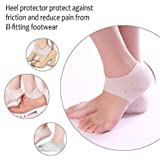 #10: Rich N Royal Moisturizing Skin Softening Silicone Gel Heel Sleeve for Dry Cracked Heel Repair
