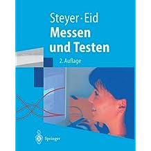 Messen und Testen: Mit Übungen und Lösungen (Springer-Lehrbuch) (German Edition)