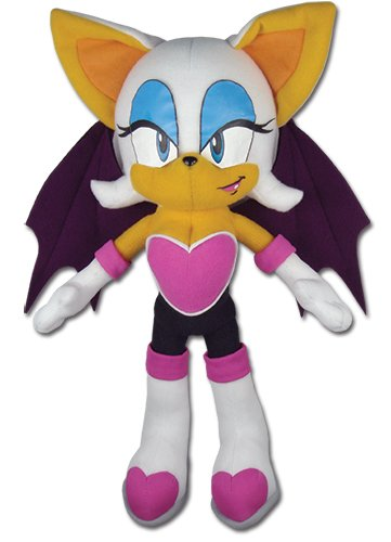 "Great Eastern GE-7542 Sonic The Hedgehog Rouge The Bat 11"" Plush"