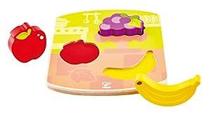 Hape e1453Ranuras de Madera Puzzle Frutas