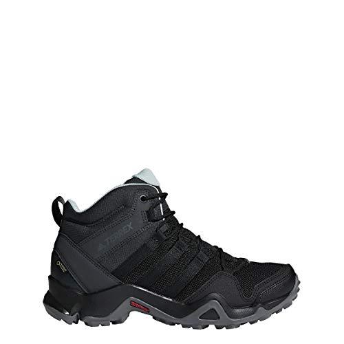 adidas Damen Terrex AX2R MID GTX Trekking-& Wanderstiefel, Schwarz Negbás/Vercen 000, 42 2/3 EU