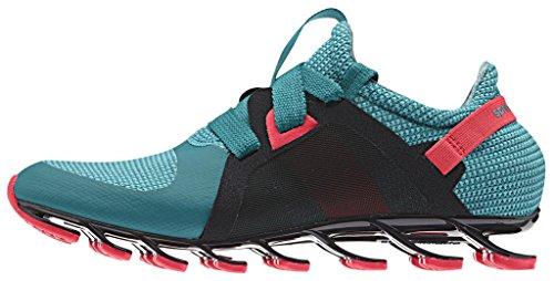 adidas Springblade Nanaya, Chaussures de Sport Femme Multicolore - Verde / Rojo / Verde (Eqtver / Rojimp / Verimp)