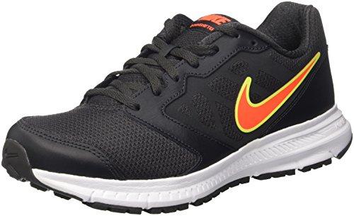 Nike Downshifter 6, Scarpe da Ginnastica Uomo, Nero (Anthracite/Total Crimson/White/Volt), 41 EU