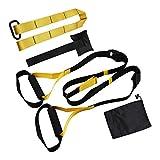 Taotuo Widerstands-Übungsbänder, Set mit Suspensions-Übungsband, für Physiotherapie, Fitness, Beine und POS, für Männer und Frauen, Drinnen und draußen