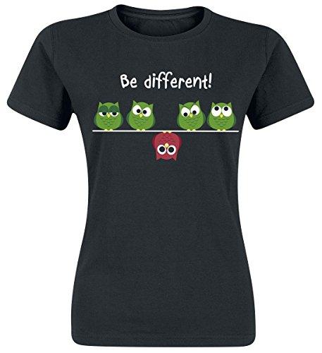 Be Different! Maglia donna nero XL