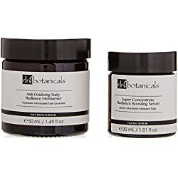 Dr Botanicals Super Concentrate Boosting Serum and Anti-Oxidizing Daily Radiance Moisturizer,180 Gram