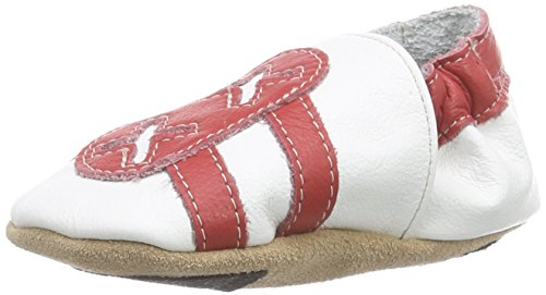 Hobea, Scarpine primi passi, Bianco (Weiß (weiß blau)), 1 - 3 anni (24/25 UE) Bianco (weiß rot)