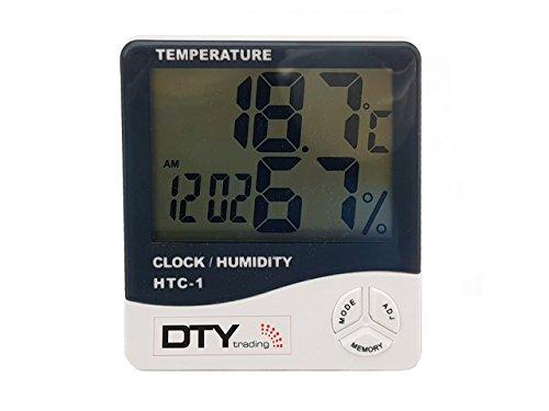 Termómetro Higrómetro Medidor Humedad Digital LCD