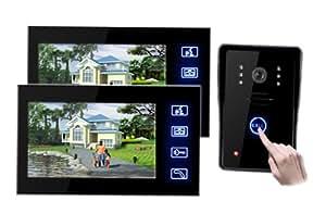 neu 7 39 39 touchscreen t rsprechanlage gegensprechanlage. Black Bedroom Furniture Sets. Home Design Ideas