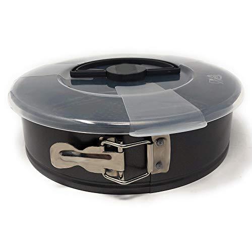 MGE - Molde de Horno Desmontable con Tapa - Doble Revestimiento Antiadherente - 24 cm