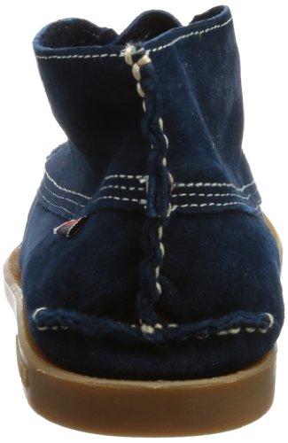 Sebago Campsides Mid, Chaussures à lacets homme Bleu - Blau (NAVY SUEDE)