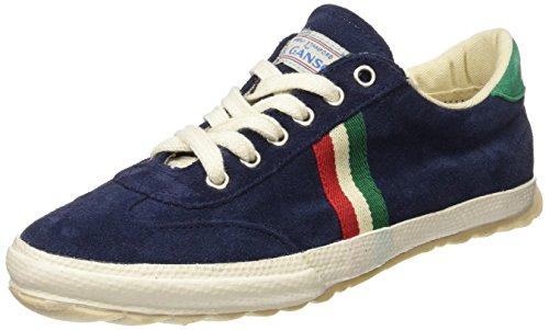 El Ganso M Match Suede Ribbon, Zapatillas de Deporte Unisex Adulto, Azul (Dark Blue), 36 EU