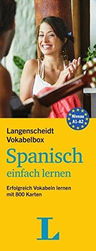 Langenscheidt Vokabelbox Spanisch einfach lernen - Box mit Karteikarten: Erfolgreich Vokabeln lernen...