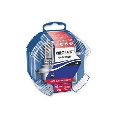 NEOLUX N472EL H4 12V 60/55W P43t HAMMER 50% Extra Light… | 07111355336713