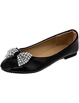 Infiniti Shoes - Bailarinas de Material Sintético para niña