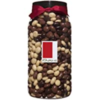 Rita Farhi Milk, Dark and White Chocolate Covered Raisins in a Gift Jar, 870 g
