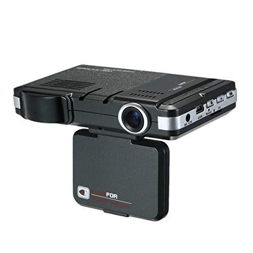 Noradtjcca HD 2 IN 1 Auto Armaturenbrett Tachograph DVR Kamera Laer Radar Speed   Recorder DVR Rückfahrkamera Aufnahmemaschine -