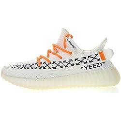 Yeezy Boost 350 V2 Off White X White Hombre Mujer Zapatillas Deportivas