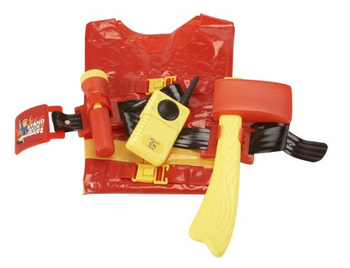 Image of Fireman Sam Utility Belt with Jacket and Accessories