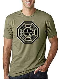 Desconocido Dharma Lost - Camiseta Manga Corta
