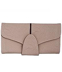 fantosy Women Wallet (Beige) (FNWC-136)