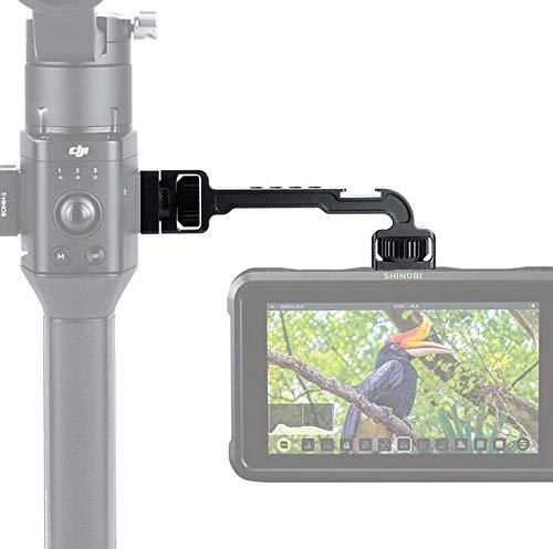 Honbobo Monitor Montieren Halterung für DJI Ronin SC/Ronin S, Drehbarer magischer Arm mit 1/4 Gewinde für Mikrofon Licht Mount