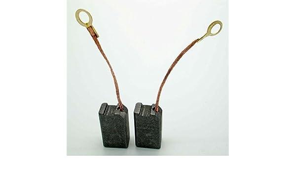 Carbon Brushes set for PARKSIDE PEBH900 PEBH1000 PEBH 900 PEBH 1000 T43