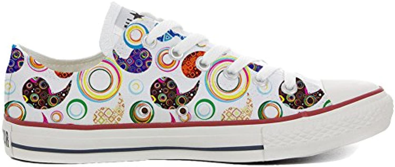 Converse All Star Zapatos Personalizados (Producto Artesano) Happy Paisley  -