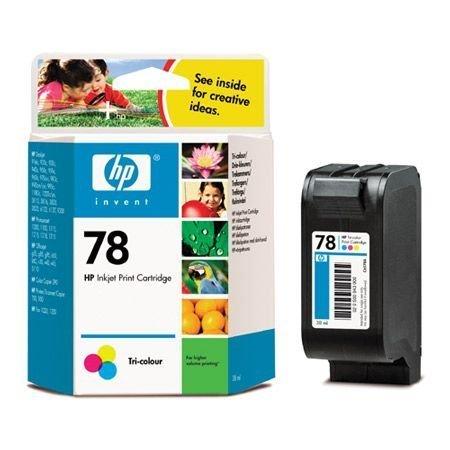 Preisvergleich Produktbild HP C6578DE Tintenpatrone Nr. 78 mehrfarbig (560 Seiten)