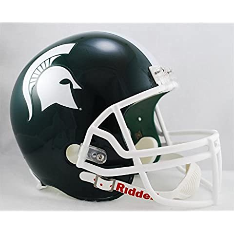 Michigan State Spartans Riddell gbroth réplica casco