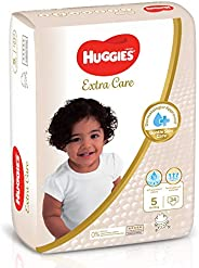 Huggies Extra Care Diapers, Size 5, Value Pack, 12-22 kg, 34 Diapers