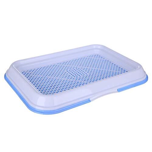 AYHa Pet Supplies di addestramento del cane, del gatto della toletta con il cuscino pad per Pilastri Can pannolini nella toilette,Blu,Grande