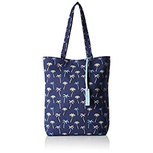 TOM TAILOR Denim Shopper Damen, Leni, 36x39x9 cm, Schultertasche, Tom Tailor Handtaschen Damen