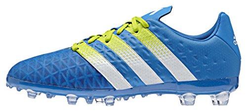 adidas Ace 16.1 Fg/Ag J, Chaussures de Football Mixte Bébé, Mehrfarbig Multicolore - Azul / Blanco / Verde (Azuimp / Ftwbla / Seliso)