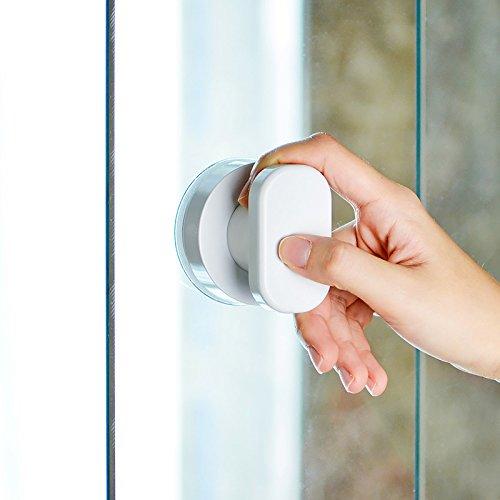 41OhN3wpc%2BL - Zreal - Tirador de puerta con ventosa para armario de cocina, puerta de cristal, ventosa, tirador para muebles
