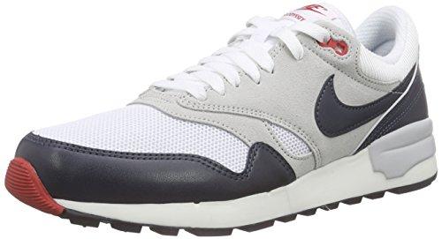 Nike Air Odyssey, Baskets Basses Homme Blanc - Weiß (104 WHITE/DRK OBSDN-NTRL GRY-UNVRS)
